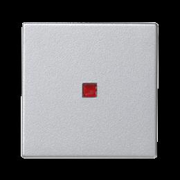 Klawisz K45 z podświetleniem kolor: czerwony 45×45mm aluminium-256560