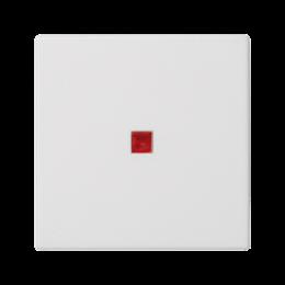 Klawisz K45 z podświetleniem kolor: czerwony 45×45mm czysta biel-256561
