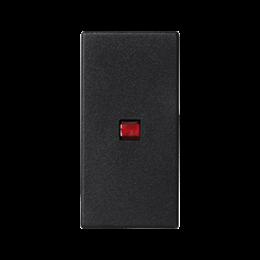 Klawisz K45 z podświetleniem kolor: czerwony 45×22,5mm szary grafit-256550