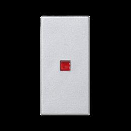 Klawisz K45 z podświetleniem kolor: czerwony 45×22,5mm aluminium-256551