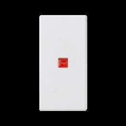 Klawisz K45 z podświetleniem kolor: czerwony 45×22,5mm czysta biel-256552