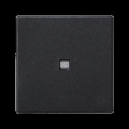 Klawisz K45 z podświetleniem kolor: biały 45×45mm szary grafit-256556