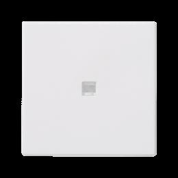 Klawisz K45 z podświetleniem kolor: biały 45×45mm czysta biel-256558