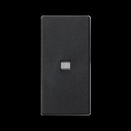 Klawisz K45 z podświetleniem kolor: biały 45×22,5mm szary grafit-256547