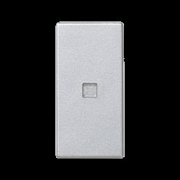 Klawisz K45 z podświetleniem kolor: biały 45×22,5mm aluminium-256548