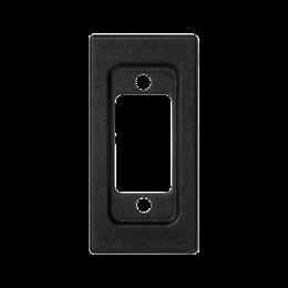 Płytka K45 pusta do złącza VGA (D-SUB 15) 45×22,5mm szary grafit-256524