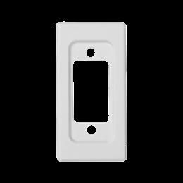 Płytka K45 pusta do złącza VGA (D-SUB 15) 45×22,5mm czysta biel-256523