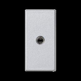 Płytka K45 gniazdo mini-jack 45×22,5mm aluminium-256507