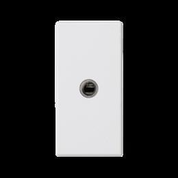 Płytka K45 gniazdo mini-jack 45×22,5mm czysta biel-256505