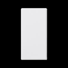 Zaślepka K45 45×22,5mm czysta biel-256573
