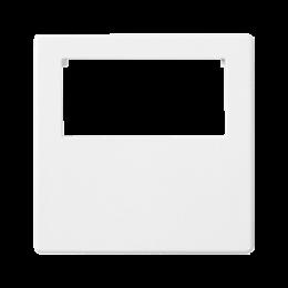 Plakietka przyłączeniowa K45 do złącza GESIS® pojedyncza 45×45mm czysta biel-256596