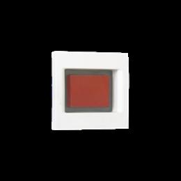 Płytka K45 z lampką sygnalizacyjną K45 45×45mm biały-256600