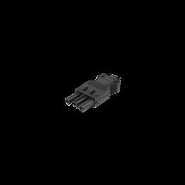 Wtyczka żeńska GESIS® złącze 3-polowe 16A 250V szary grafit-256602