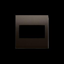 Zaślepka bez mostka brąz mat, metalizowany-253140