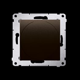 Ściemniacz naciskowo-obrotowy brąz mat, metalizowany-252645