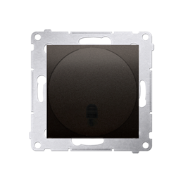 Ściemniacz naciskowy i zdalnie sterowany brąz mat, metalizowany-252656