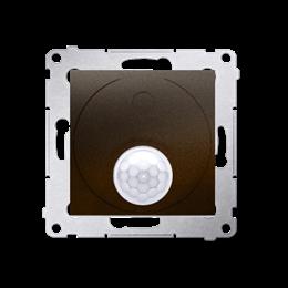 Łącznik z czujnikiem ruchu z przekaźnikiem do obiektów użyteczności publicznej brąz mat, metalizowany-252720