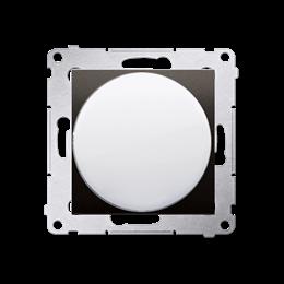 Sygnalizator świetlny LED - światło białe brąz mat, metalizowany-253146