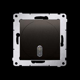 Dzwonek elektroniczny brąz mat, metalizowany-253171