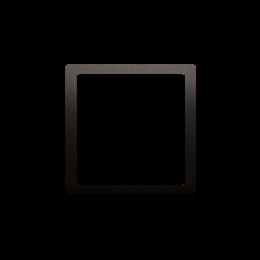Pierścień dekoracyjny brąz mat, metalizowany-253208