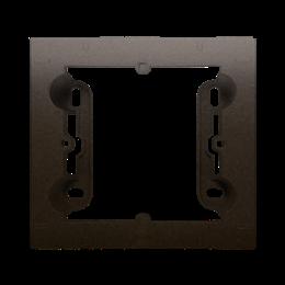 Puszka natynkowa 1-krotna brąz mat, metalizowany-251691
