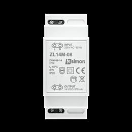 Zasilacz LED modułowy, 14V, DC,  8W.-252876
