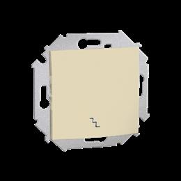 Łącznik schodowy (moduł) 16AX 250V, zaciski śrubowe, beżowy-254573