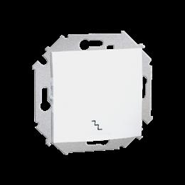 Łącznik schodowy (moduł) 16AX 250V, zaciski śrubowe, biały-254575