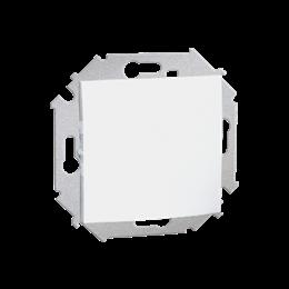 Przycisk pojedynczy zwierny bez piktogramu (moduł) 16AX 250V, zaciski śrubowe, biały-254594