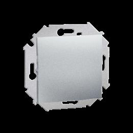 Przycisk pojedynczy zwierny bez piktogramu (moduł) 16AX 250V, zaciski śrubowe, aluminiowy, metalizowany-254596