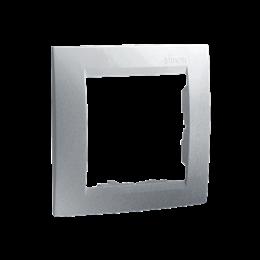 Ramka 1- krotna aluminiowy, metalizowany-254768