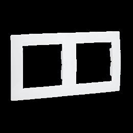 Ramka 2- krotna biały-254769