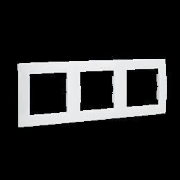Ramka 3- krotna biały-254772