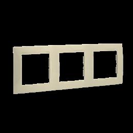 Ramka 3- krotna beżowy-254773
