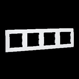 Ramka 4- krotna biały-254775