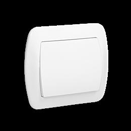 Łącznik jednobiegunowy biały 10AX-255440