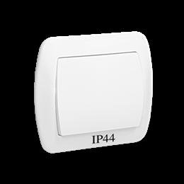 Łącznik jednobiegunowy bryzgoszczelny biały 10AX-255444
