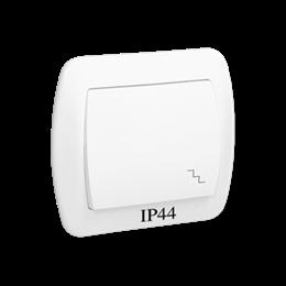Łącznik schodowy bryzgoszczelny biały 10AX-255478