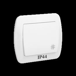 Łącznik krzyżowy bryzgoszczelny biały 10AX-255510