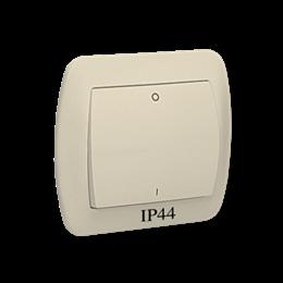 Łącznik dwubiegunowy bryzgoszczelny beżowy 10AX-255568