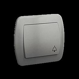 """Przycisk """"dzwonek"""" aluminiowy, metalizowany 10AX-255541"""