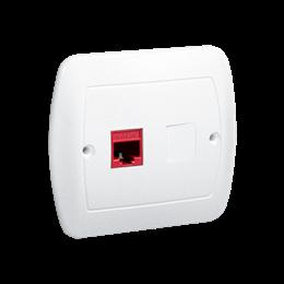 Gniazdo komputerowe RJ45 kategoria 5e biały-255680