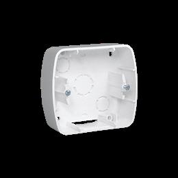 Puszka natynkowa 1-krotna biały-255701