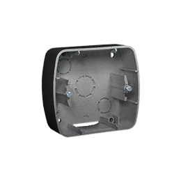 Puszka natynkowa 1-krotna aluminiowy, metalizowany-255703