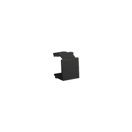 Zaślepka otworu wtyku RJ45/RJ12  pokrywy gniazda teleinformatycznego grafit mat, metalizowany-254208