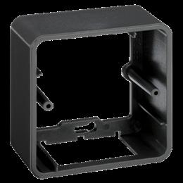Puszka natynkowa pojedyncza składana K45 1×K45 szary grafit-255811