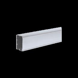Kanał instalacyjny CABLOPLUS TS ALU 90×55mm Ilość komór:1 dł.:2m (cena za mb) aluminium IK:IK07-256115