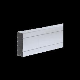Kanał instalacyjny CABLOPLUS TS ALU 130×55mm Ilość komór:1 dł.:2m (cena za mb) aluminium IK:IK07-256116