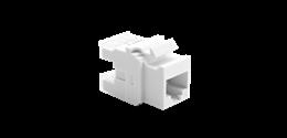 Wkład gniazda komputerowego RJ45 kat.6, nieekranowany (UTP) biały-253114