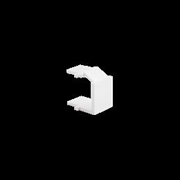 Zaślepka otworu wtyku RJ45/RJ12  pokrywy gniazda teleinformatycznego biały-253097